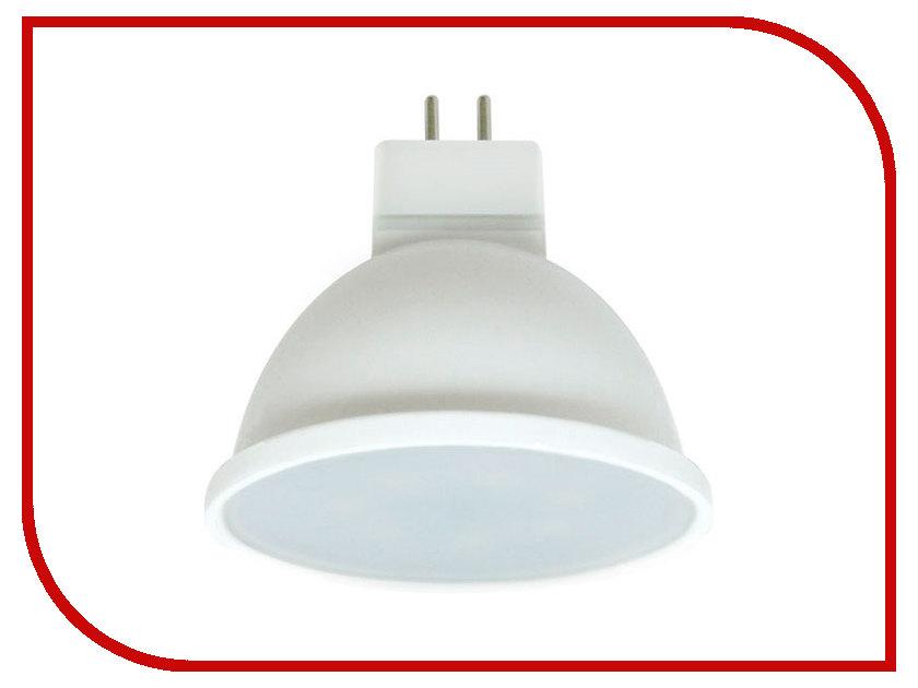 Лампочка Ecola MR16 LED Premium GU5.3 8W 220V 4200K матовое стекло M2UV80ELC