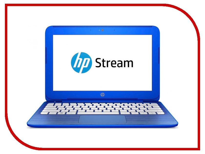 Ноутбук HP Stream 11-r000ur Blue N8J54EA (Intel Celeron N3050 1.6 GHz/2048Mb/32Gb SSD/No ODD/Intel HD Graphics/Wi-Fi/Cam/11.6/1366x768/Windows 10)<br>