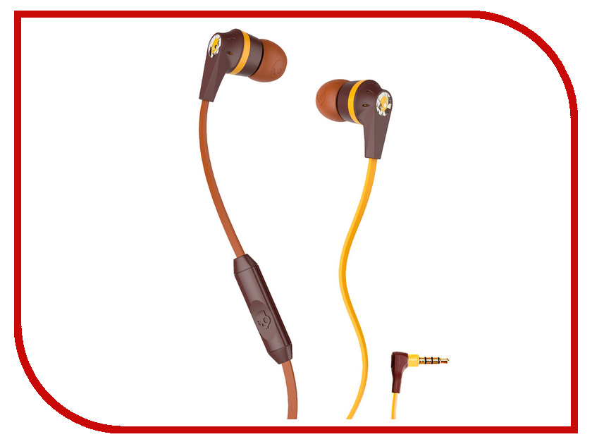 Гарнитура Skullcandy Riot Explorer Burgundy-Brown S2IKHY-487<br>