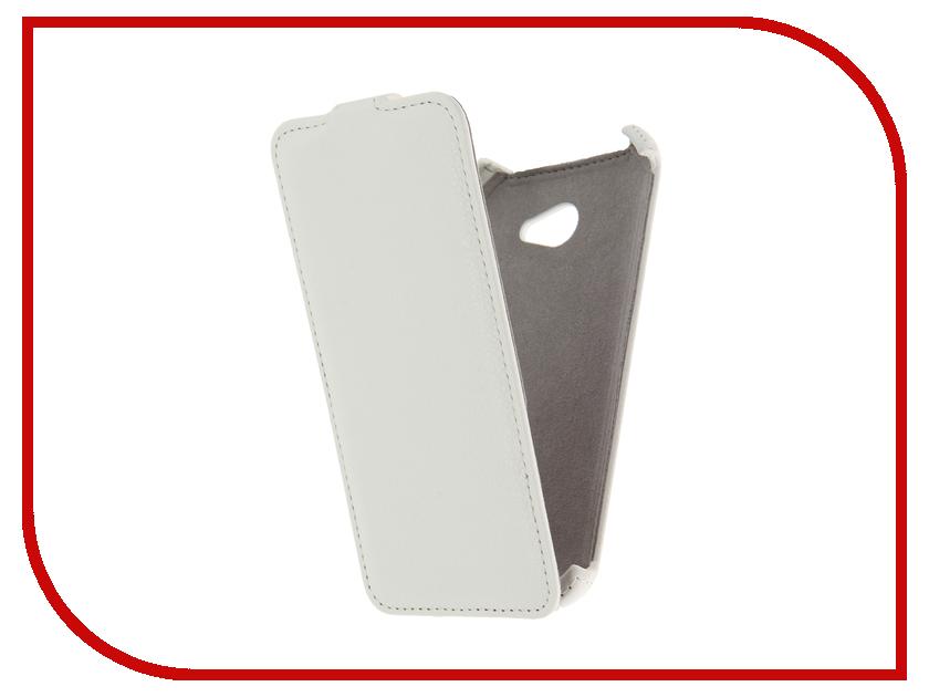 Аксессуар Чехол LG K5 X220 Activ Flip Case Leather White 58532