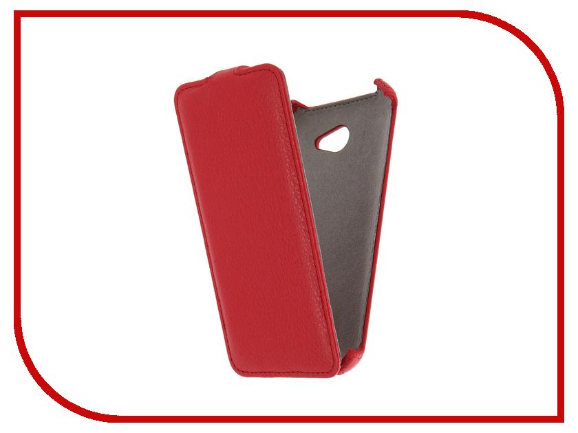 ��������� ����� LG K5 X220 Activ Flip Case Leather Red 58531