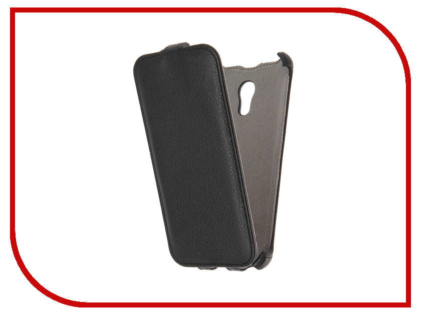 Аксессуар Чехол Meizu Pro 6 Activ Flip Case Leather Black 58544<br>