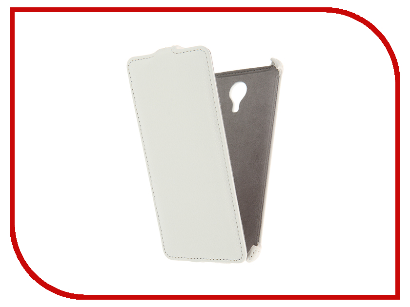 Аксессуар Чехол Meizu M3 Note Activ Flip Case Leather White 58541<br>