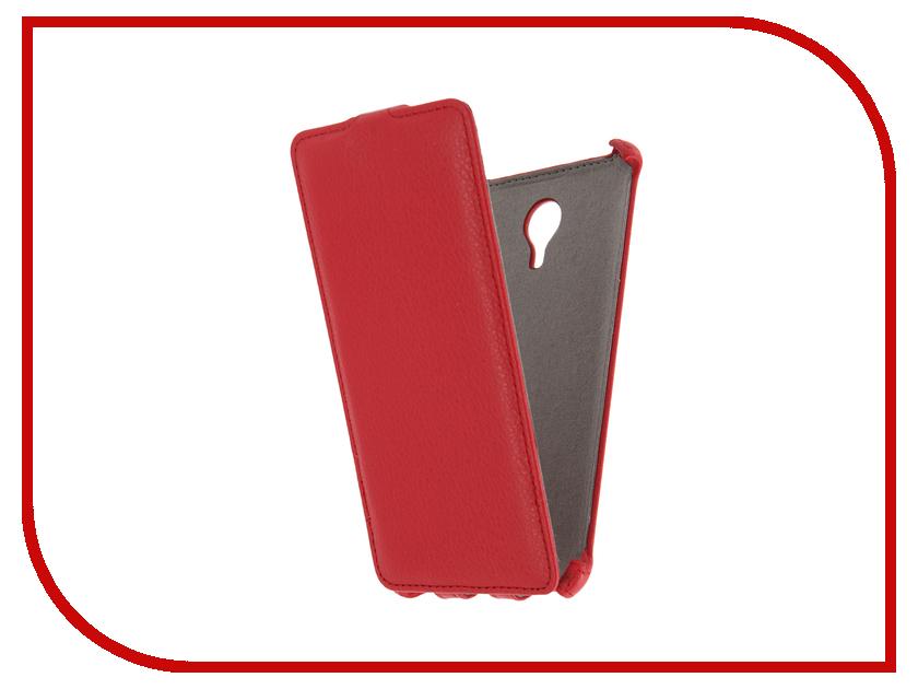 Аксессуар Чехол Meizu M3 Note Activ Flip Case Leather Red 58540
