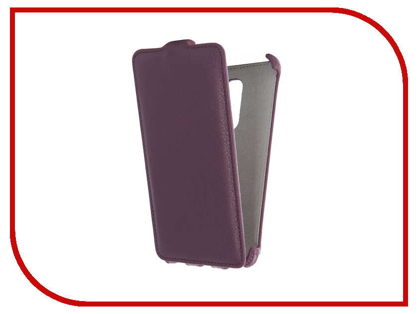 Аксессуар Чехол Lenovo Vibe X3 Activ Flip Case Leather Violet 58526<br>