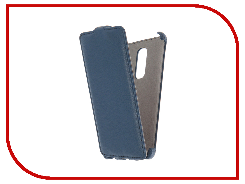 Аксессуар Чехол Lenovo Vibe X3 Activ Flip Case Leather Blue 58525<br>