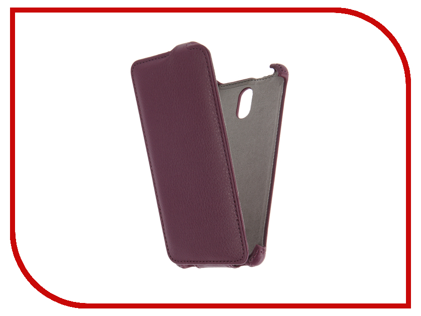 Аксессуар Чехол Lenovo Vibe P1m Activ Flip Case Leather Violet 58516<br>