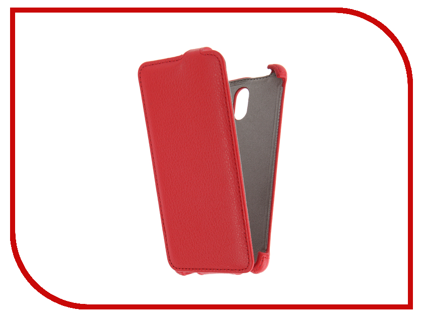 ��������� ����� Lenovo Vibe P1m Activ Flip Case Leather Red 58513