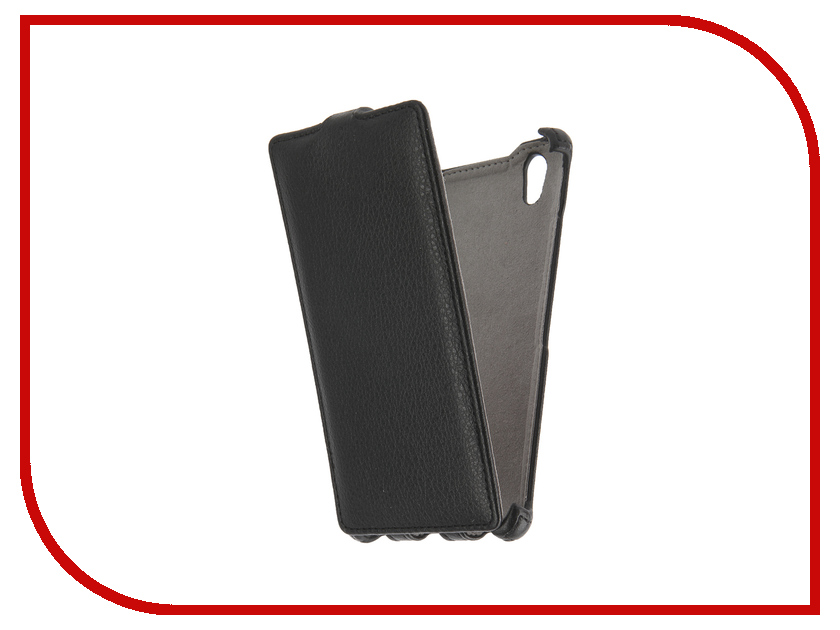Аксессуар Чехол Lenovo P70 Activ Flip Case Leather Black 46520<br>