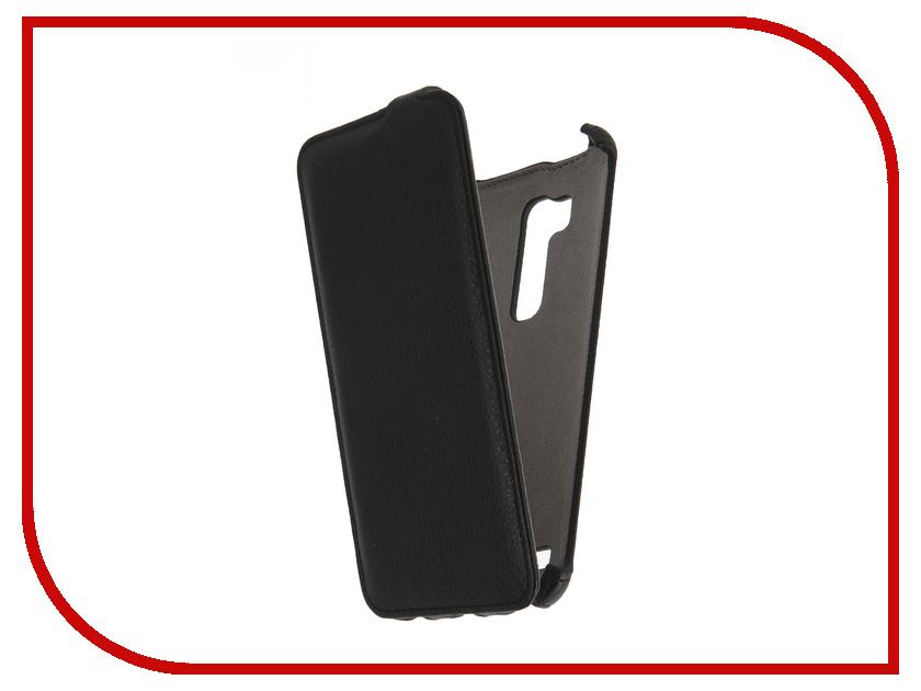 Аксессуар Чехол ASUS ZenFone Go ZB551KL (5.5) Activ Flip Case Leather Black 58511<br>