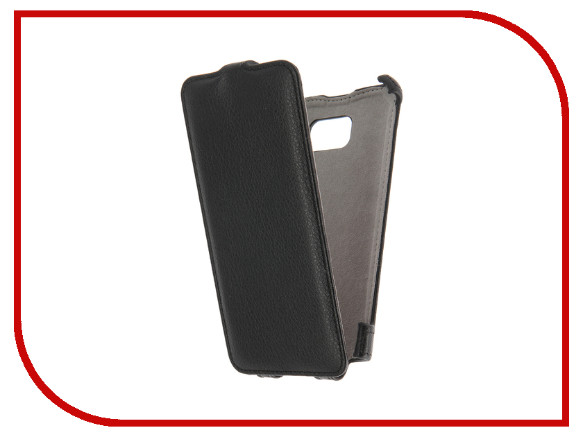 Аксессуар Чехол Samsung Galaxy Note 5 SM-N920 Activ Flip Case Leather Black 58546<br>