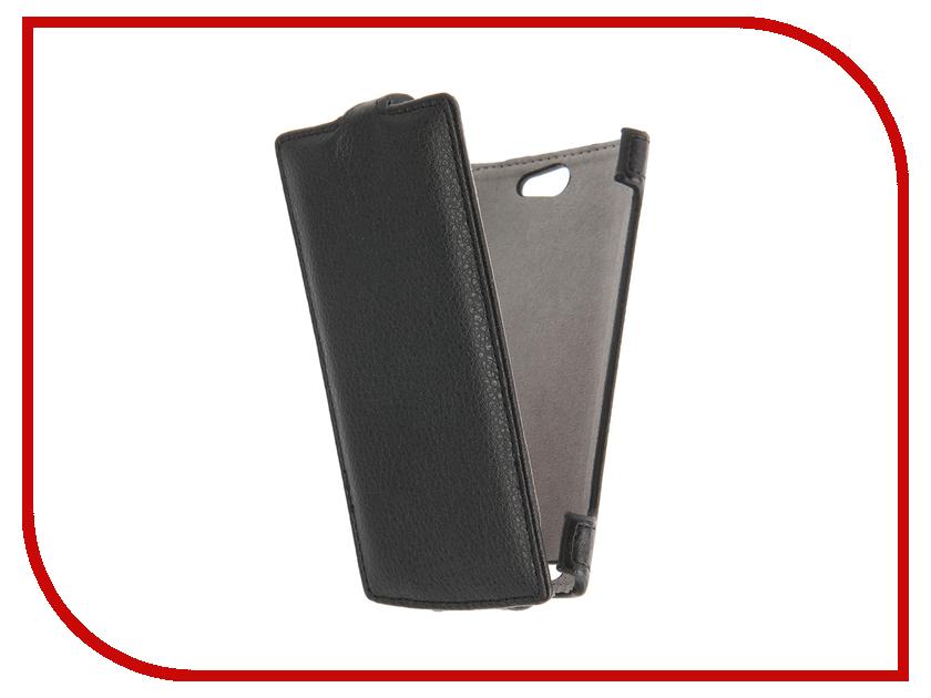 Аксессуар Чехол Philips S309 Activ Flip Case Leather Black 55397