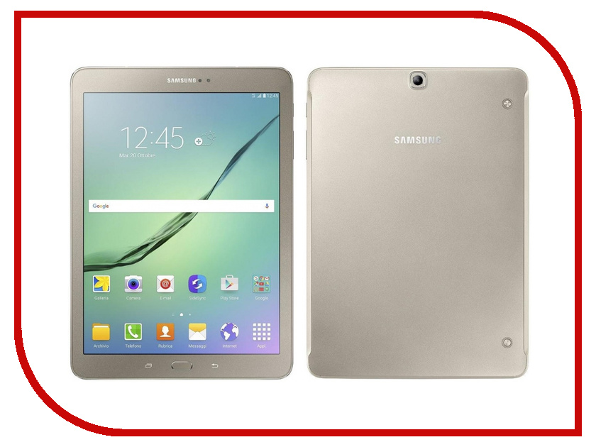 Планшет Samsung SM-T819 Galaxy Tab S2 9.7 32Gb LTE Wi-Fi Gold SM-T819NZDESER (Qualcomm Snapdragon 652 1.8 GHz/3072Mb/32Gb/Wi-Fi/Bluetooth/Cam/9.7/2048x1536/Android) планшет samsung sm t719n galaxy tab s2 8 0 32gb lte black sm t719nzkeser qualcomm snapdragon 652 1 8 ghz 3072mb 32gb wi fi bluetooth cam 8 0 2048x1536 android