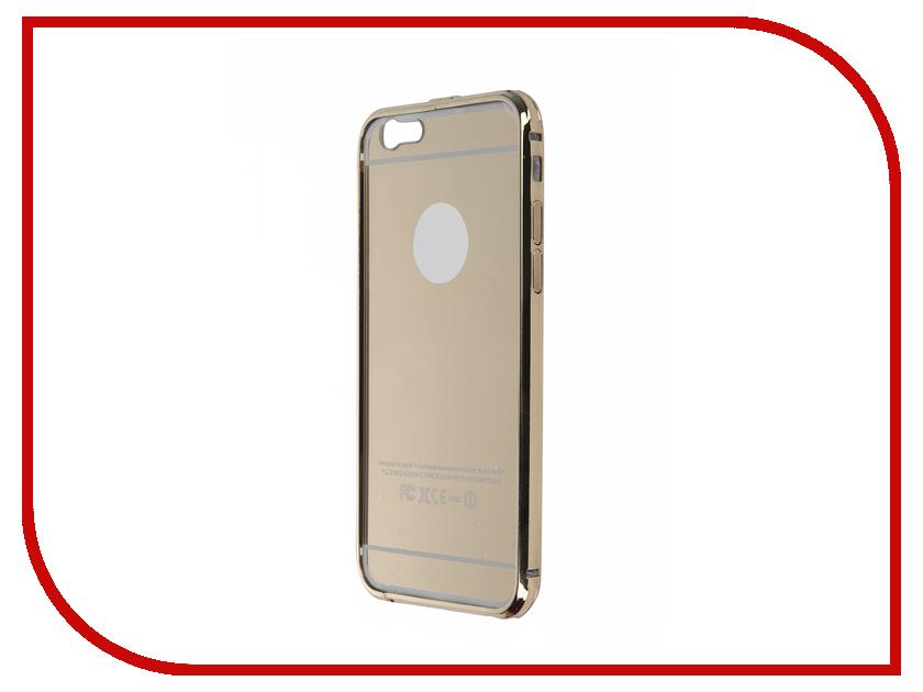 Аксессуар Чехол Activ для APPLE iPhone 6 + задняя крышка Gold 58751
