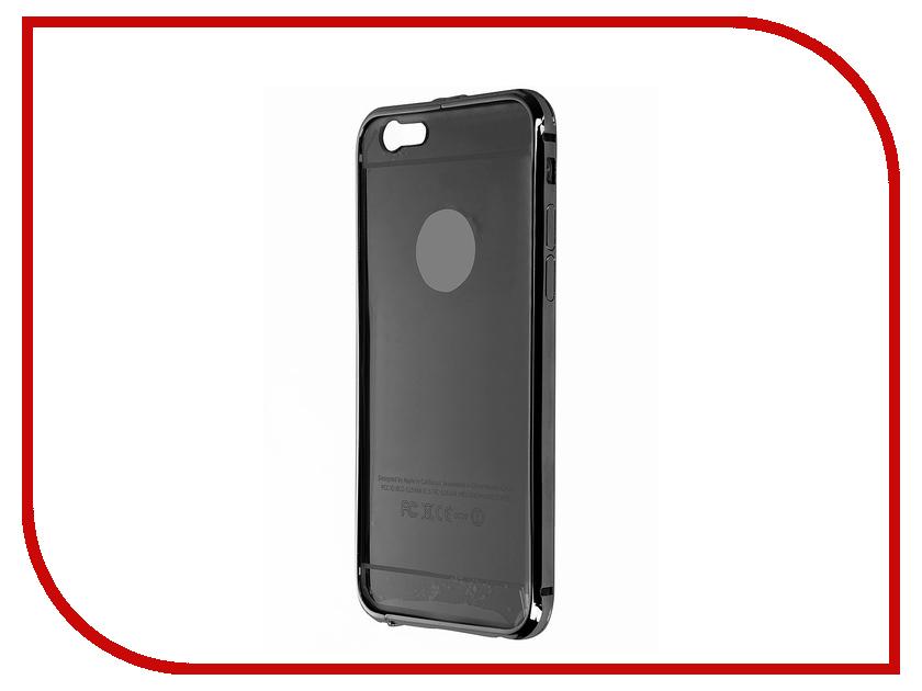 Аксессуар Чехол Activ для APPLE iPhone 6 + задняя крышка Black 58750<br>