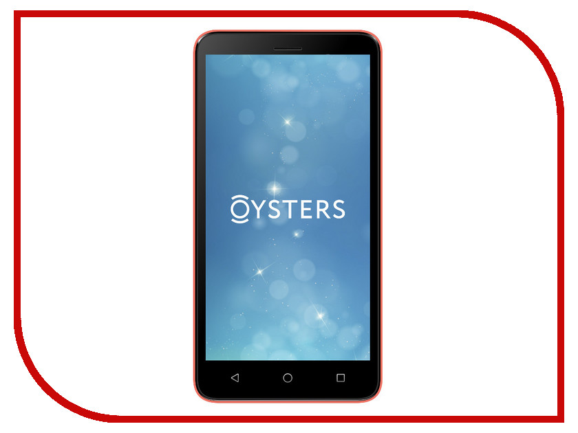 Сотовый телефон Oysters Pacific E Red смартфон oysters pacific 4g black