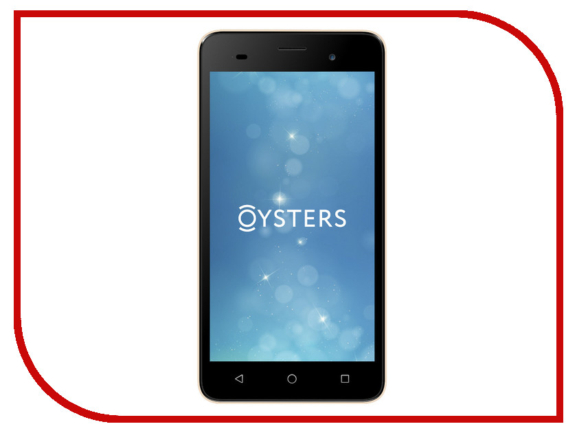 Сотовый телефон Oysters Pacific E Gold oysters novgorod blue