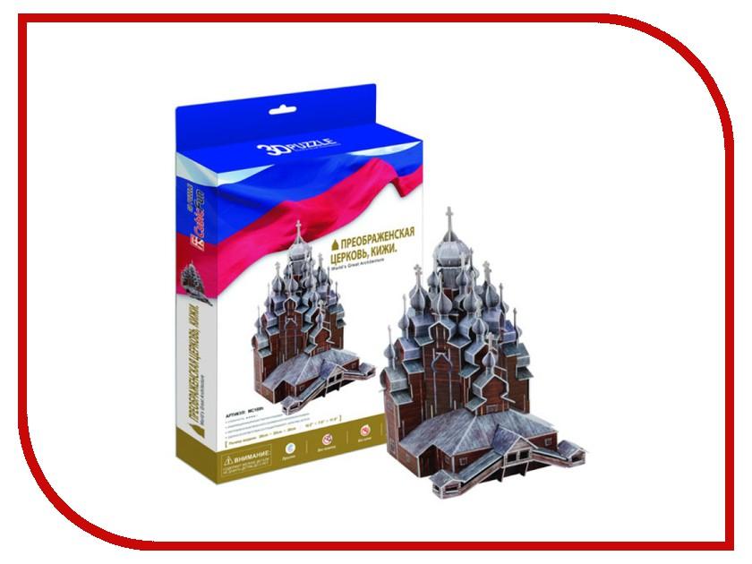 3D-пазл CubicFun Преображенская церковь. Кижи MC169h