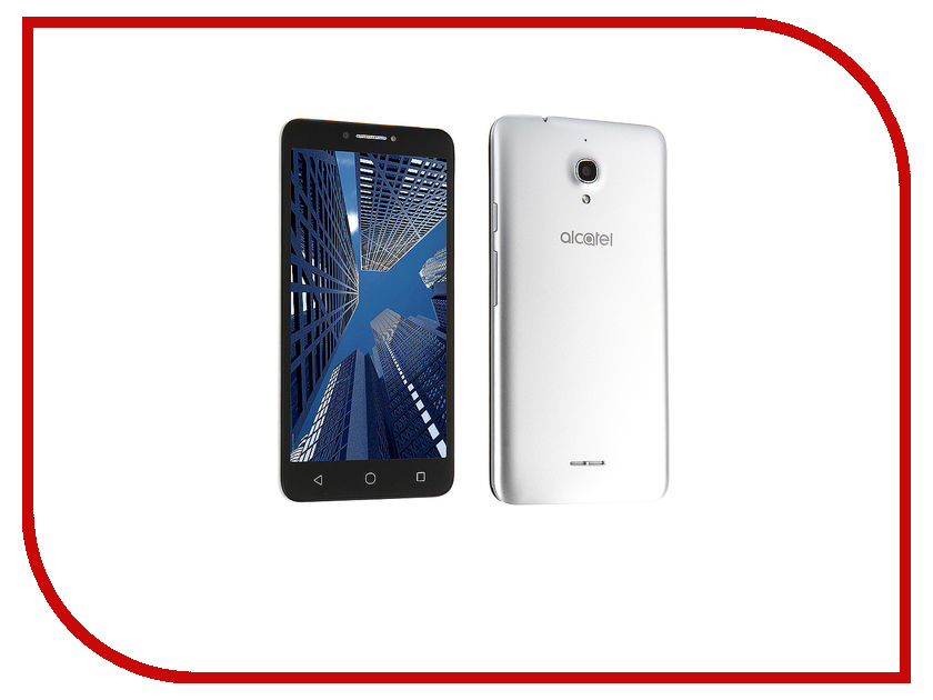 Сотовый телефон Alcatel PIXI 4(6) 4G OneTouch 9001D LTE Metal Silver смартфон alcatel onetouch 6055k idol 4 gold black