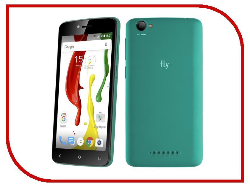 Сотовый телефон Fly FS505 Nimbus 7 Black Green смартфон fly nimbus 10 fs512 черный