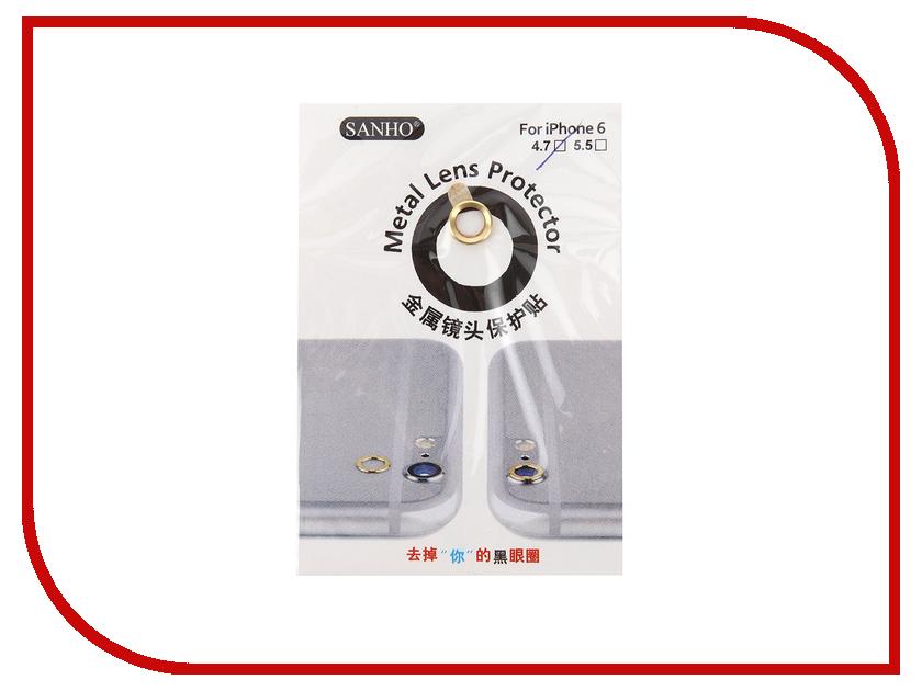 Аксессуар Защита камеры Apres Metal Ring Lens Protector для iPhone 6 / 6S Gold<br>