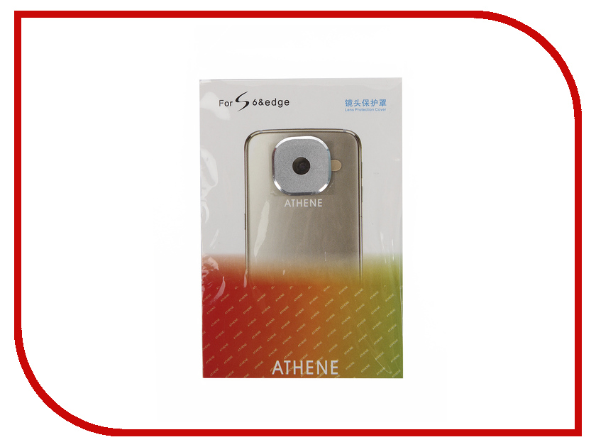 Аксессуар Защита камеры Samsung Galaxy S6 / S6 Edge Apres Metal Lens Protection Cover Silver<br>