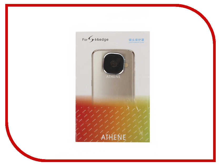 Аксессуар Защита камеры Samsung Galaxy S6 / S6 Edge Apres Metal Lens Protection Cover Black<br>