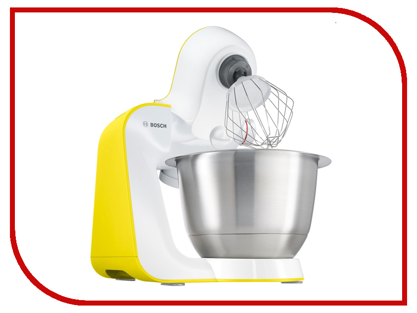 комбайн Bosch MUM 54Y00 White-Yellow