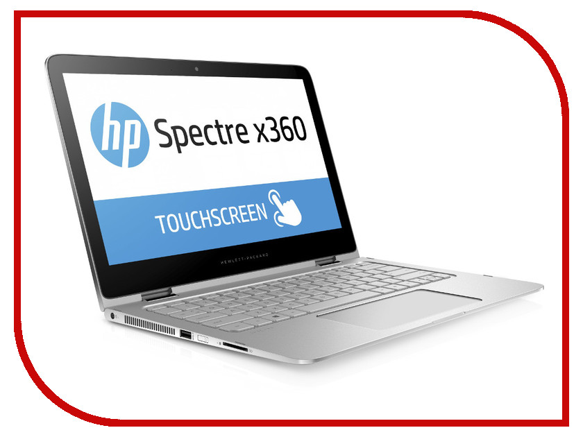 Ноутбук HP Spectre x360 13-4105ur X5B59EA (Intel Core i7-6500U 2.5 GHz/8192Mb/512Gb SSD/No ODD/Intel HD Graphics/Wi-Fi/Cam/13.3/2560x1440/Touchscreen/Windows 10 64-bit)