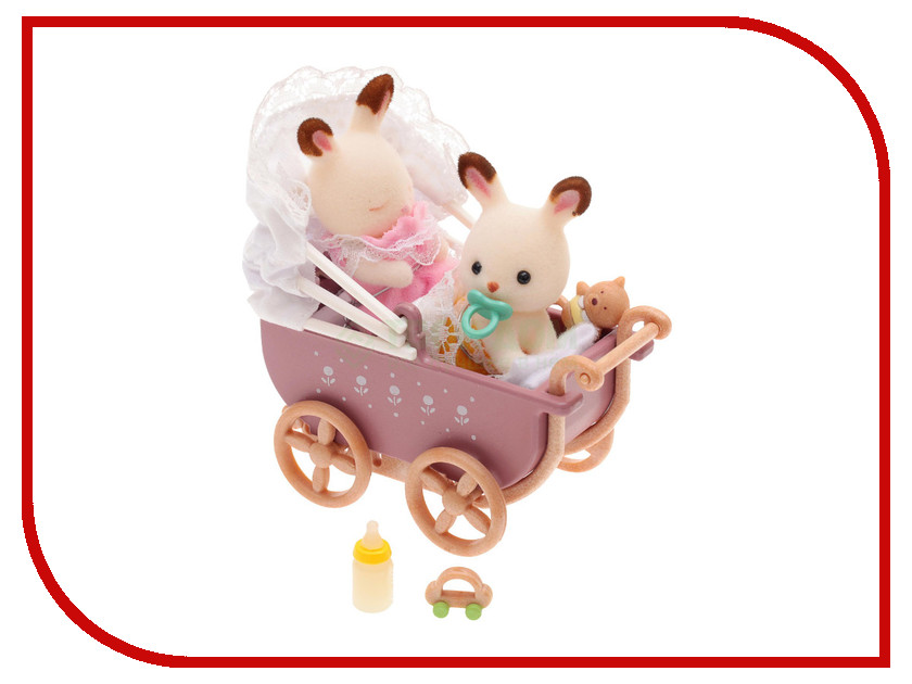 Игрушка Sylvanian Families Двойняшки в коляске 2206 double side drill out damaged screw extractor drill bits out remover broken bolt stud removal tool kit 4pcs 1 2 3 4 with case
