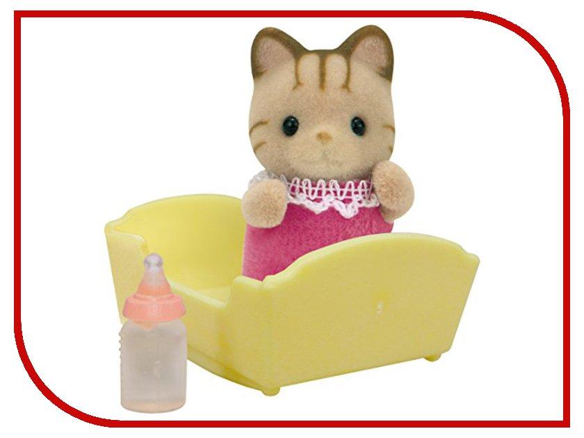 Игрушка Sylvanian Families Малыш Полосатый котёнок 5186