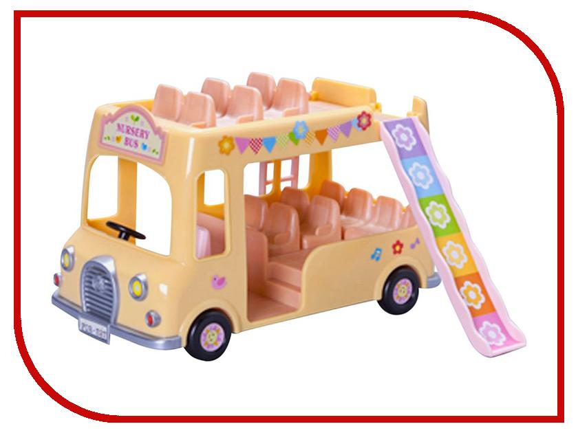 Игра Sylvanian Families Двухэтажный автобус для малышей 3588 игра sylvanian families мягкая мебель для гостиной 2922