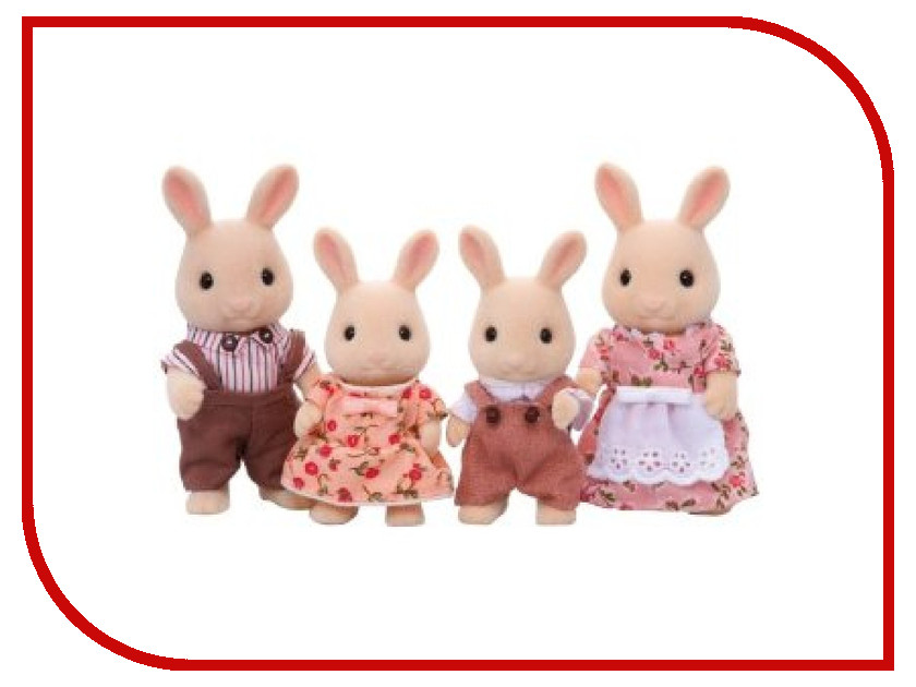 Игра Sylvanian Families Семья Молочных Кроликов 3144<br>
