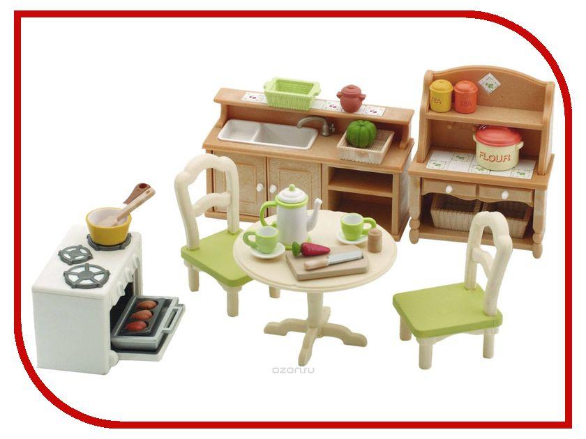 Игровой набор Sylvanian Families Кухня в коттедже 2951 / 5033 игровые наборы sylvanian families игровой набор малыш далматин
