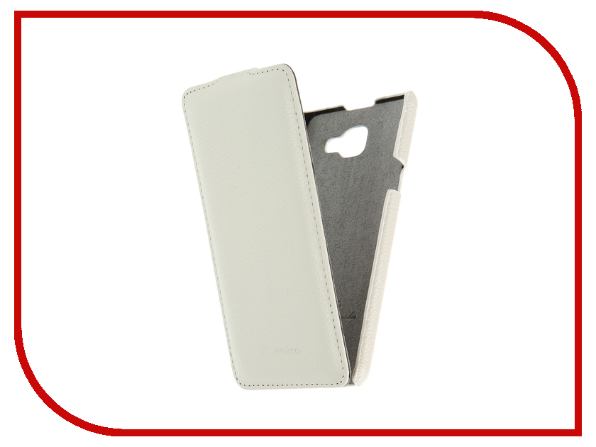 Аксессуар Чехол Samsung Galaxy A5 (2016) Melkco White LC 9379<br>