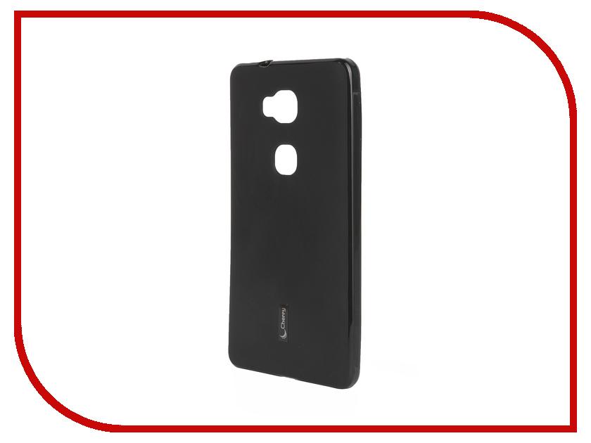 Аксессуар Чехол-накладка Huawei Honor 5X Cherry Black 9326<br>