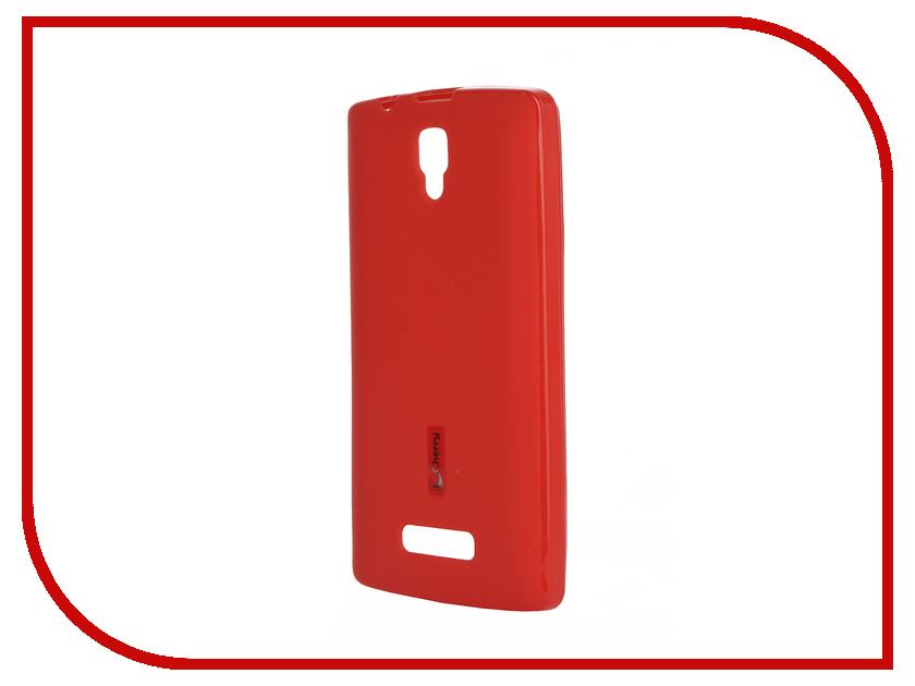 Аксессуар Чехол-накладка Lenovo A2010 Cherry Red 9290<br>