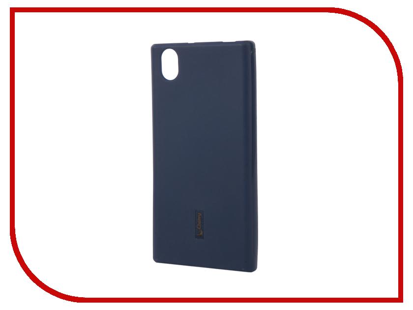 Аксессуар Чехол-накладка Lenovo P70 Cherry Dark Blue 9292<br>