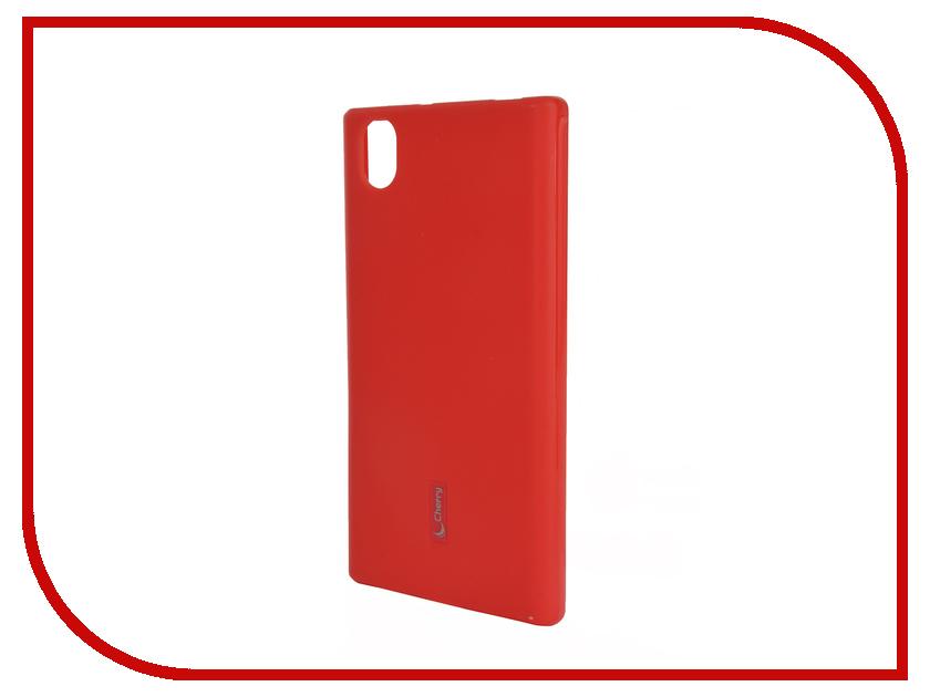 Аксессуар Чехол-накладка Lenovo P70 Cherry Red 9291