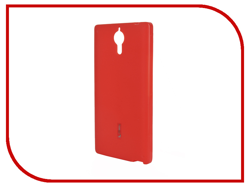 Аксессуар Чехол-накладка Lenovo P90 Cherry Red 9295<br>