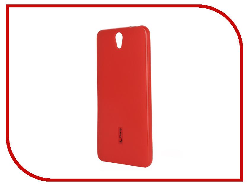 Аксессуар Чехол-накладка Lenovo Vibe S1 Cherry Red 9277<br>