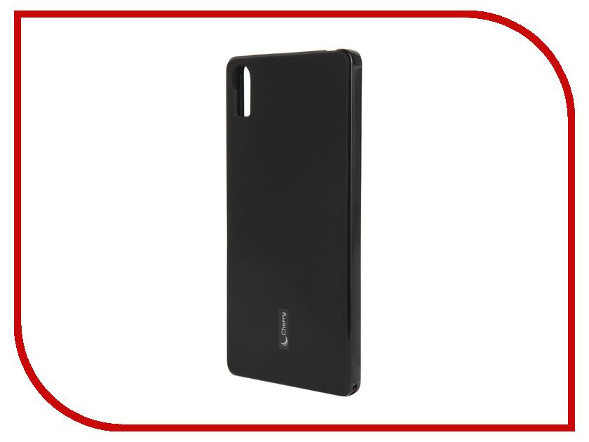 Аксессуар Чехол-накладка Lenovo Vibe Shot Cherry Black 9299<br>