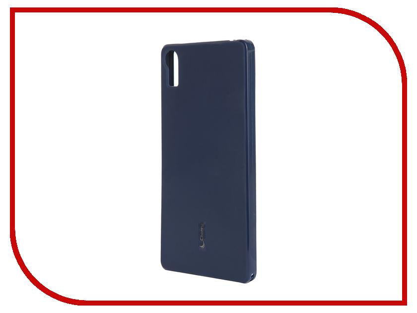 Аксессуар Чехол-накладка Lenovo Vibe Shot Cherry Dark Blue 9298<br>