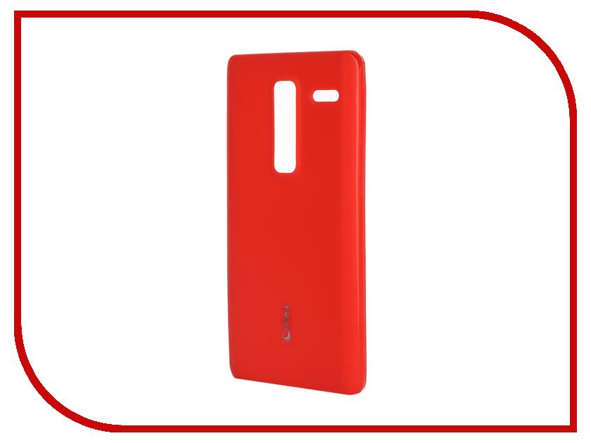 Аксессуар Чехол-накладка LG Class H650E Cherry Red 9301