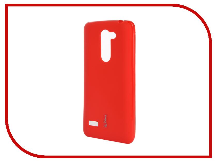 Аксессуар Чехол-накладка LG Ray Cherry Red 9309<br>