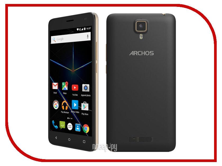 Сотовый телефон Archos 50d Oxygen Dark Grey телефон aastra 7187a plus d grey dbc18721 010