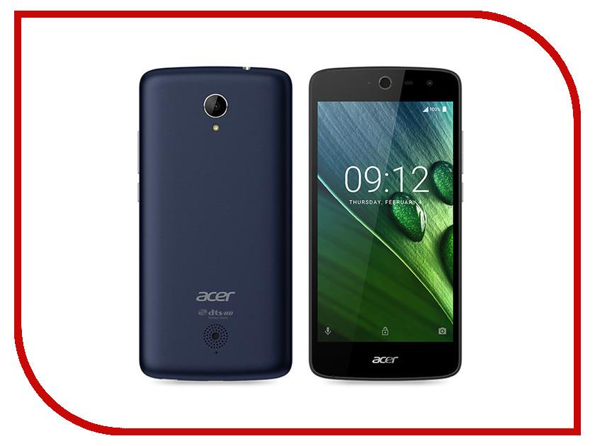 Сотовый телефон Acer Liquid Zest 4G Z528 Blue<br>