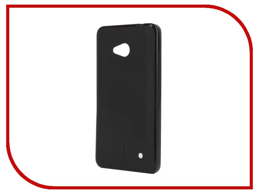 Аксессуар Чехол-накладка Microsoft Lumia 640 Cherry Black 8219