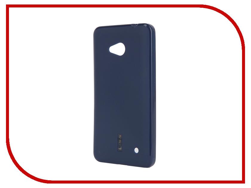 Аксессуар Чехол-накладка Microsoft Lumia 640 Cherry Dark Blue 9312