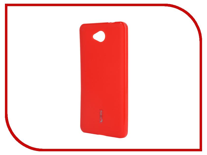 Аксессуар Чехол-накладка Microsoft Lumia 650 Cherry Red 9313